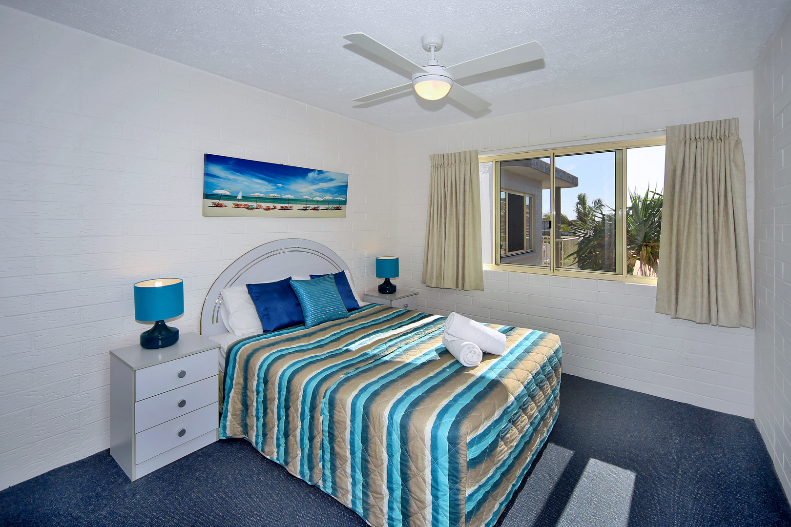 Master Bedroom Surf Dance Apartments