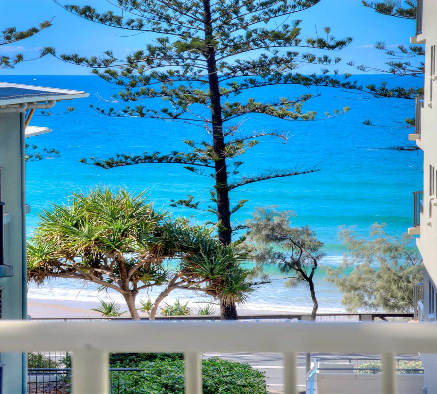 View from Coolum Holiday Apartment